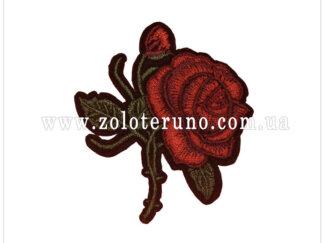Нашивка на одяг(аплікація) троянда