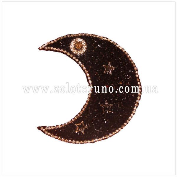 Нашивка на одяг(аплікація) Місяць