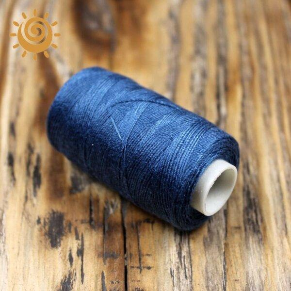 Нитки джинсові, колір синій 1
