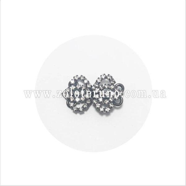Застежки для одежды - Корона, колір нікель