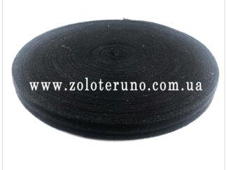 Кіперна стрічка 15мм, колір чорний