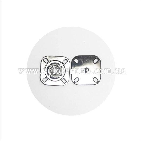 Пришивні кнопки, 23 мм, срібло