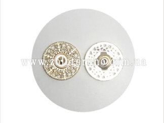 Пришивні кнопки, 20 мм, золото