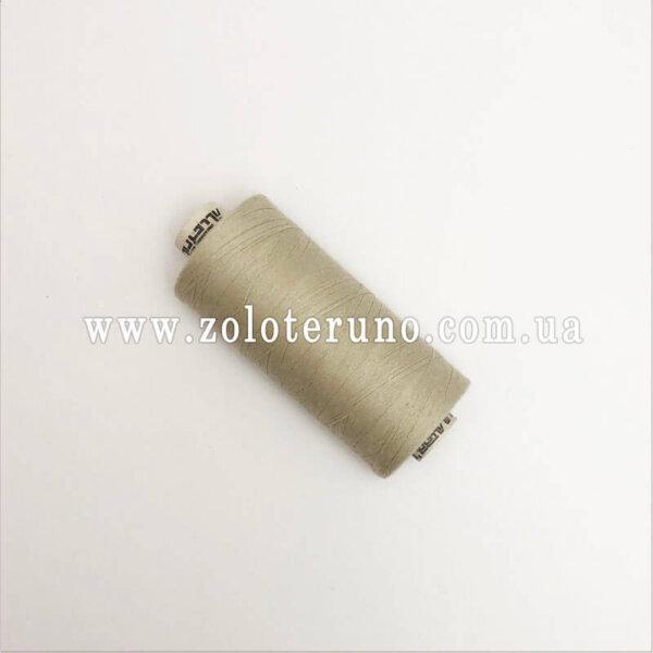 Нитка швейна Gutermann 120, 1000 м, 100% поліестр, колір сірий
