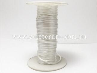 Корсетний шнур, колір білий, 3мм
