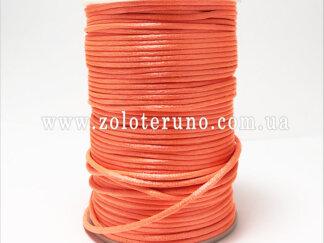 Корсетний шнур, колір малиновий, 3мм