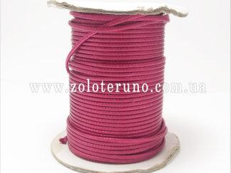 Корсетний шнур жорсткий, колір рожевий, 3мм