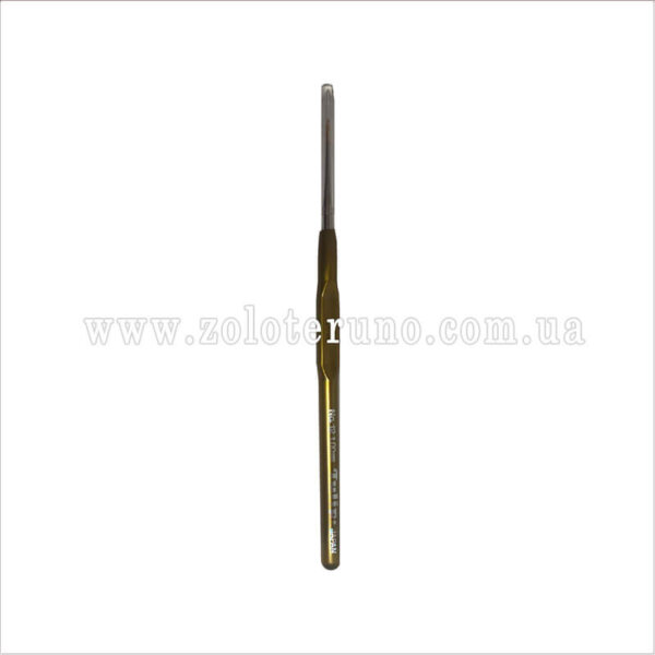 Гачок металевий односторонній з ручкою 12 см, 1,00 мм