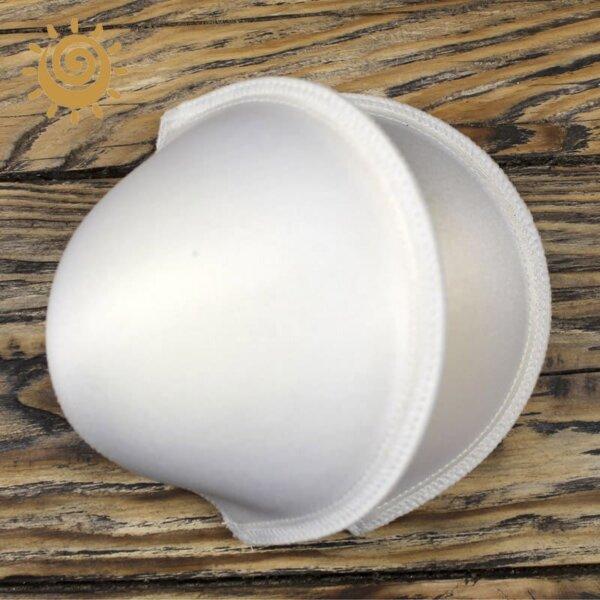 Поролоновий вкладиш накладки в ліфчик, колір білий 1