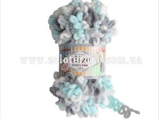 Пряжа: 5939 Puffy Fine Склад пряжі: 100% мікрополіестр.
