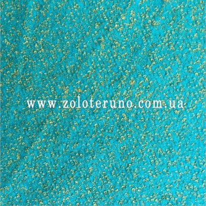 Пальтова тканина букле, колір блакитна, ширина 150 см