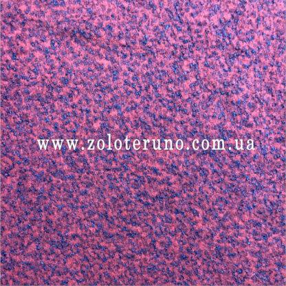 Пальтова тканина букле, колір рожева, ширина 150 см