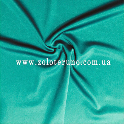 Костюмна тканина, колір зелений, ширина 150 см