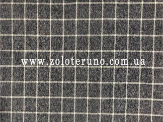Костюмна тканина, колір клітка сіра, ширина 150 см