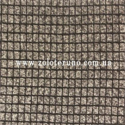 Костюмна тканина, колір сіра з темними квадратами, ширина 150 см