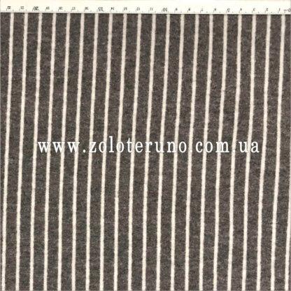 Костюмна тканина, колір полоска сіра, ширина 150 см