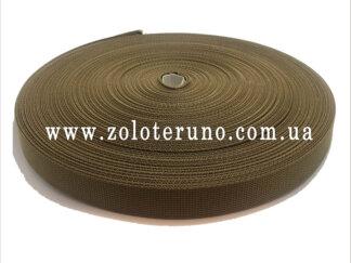 Стропа ремінна, 25 мм, колір зелений