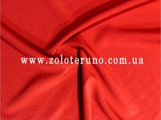 трикотаж тонкий, колір червоний, ширина 150 см