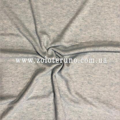 В'язані полотна, колір сірий, ширина 150 см