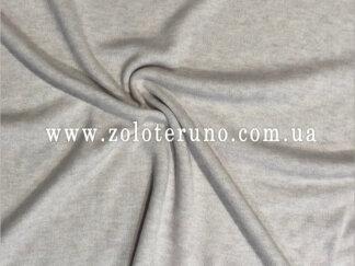 В'язані полотна, колір світло сірий, ширина 150 см