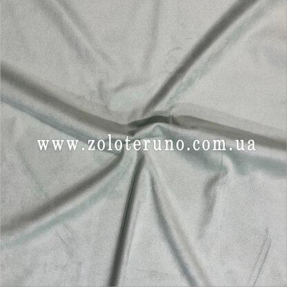 Замша штучна, колір блакитний, ширина 150 см