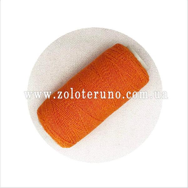 Нитка резинка, апельсиновий колір