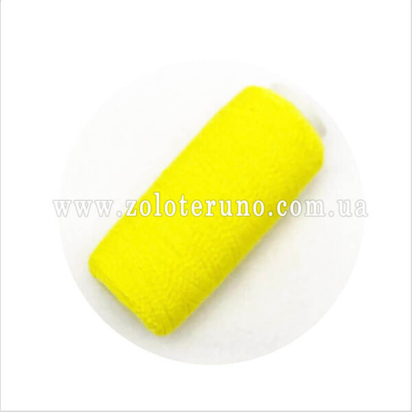 Нитка резинка, колір жовтий