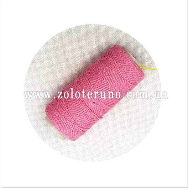 Нитка резинка, колір рожевий