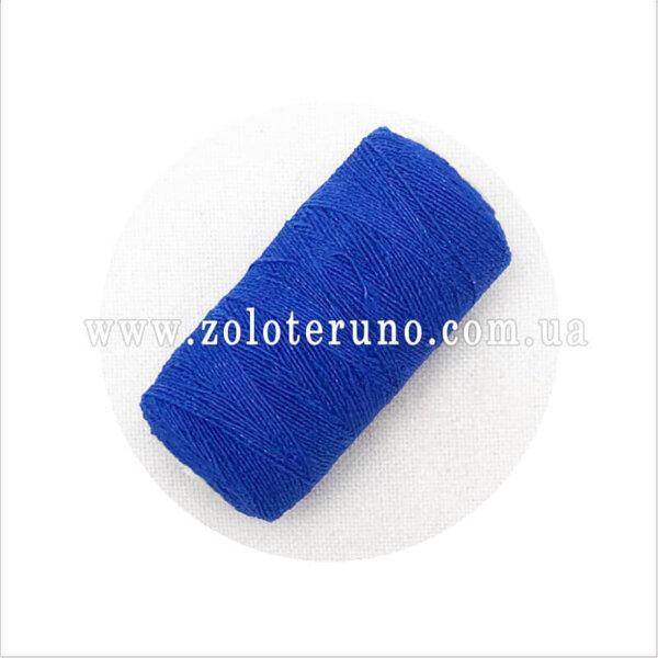 Нитка резинка для браслетов, синий цвет