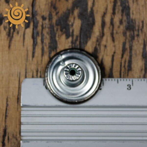 Джинсова заклепка-кнопка, 15 мм, колір мідний 1 18869