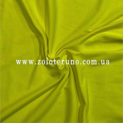 Трикотаж, колір жовтий, ширина 150 см