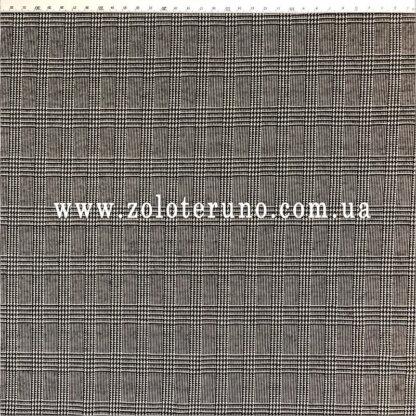 Трикотаж, колір сірий з дрібною сіткою, ширина 150 см