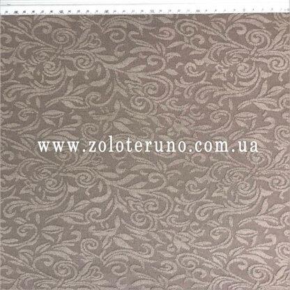 Трикотаж, колір сірий з квітами, ширина 150 см