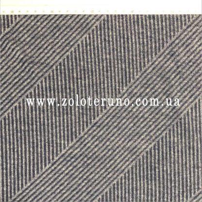 тканина трикотаж львів, колір сірий з з полосками, ширина 150 см