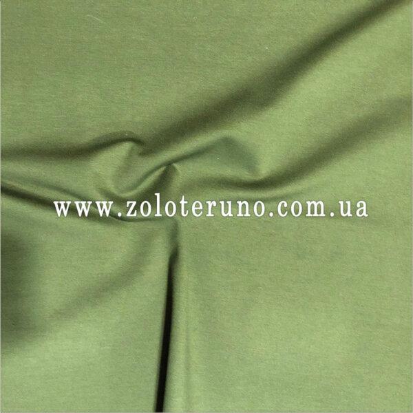 Трикотаж, колір зелений, ширина 150 см