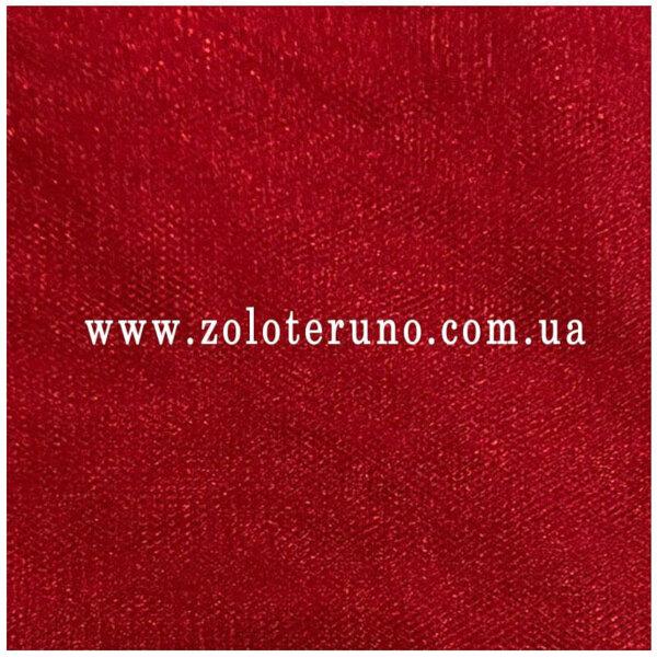 Фатін середньої жорсткості, колір червоний