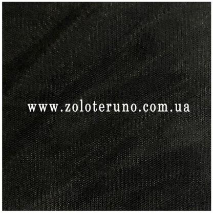 Фатін середньої жорсткості, колір чорний