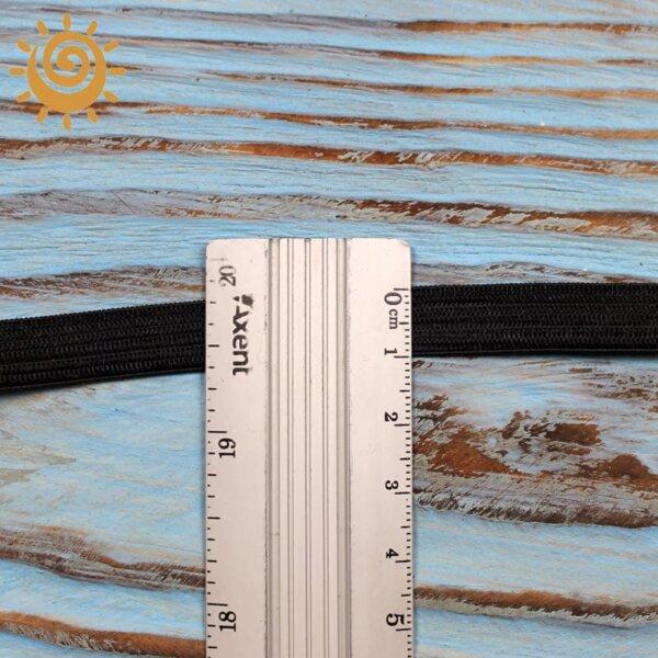 Резинка еластична 10мм, колір чорний 1