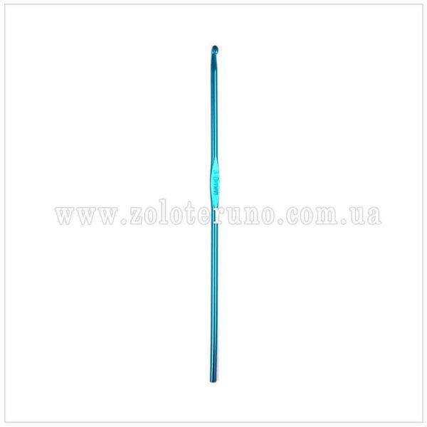 Гачок алюмінієвий односторонній 12 см, 3.0 мм для вязання