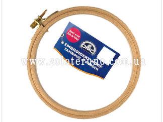 П'яльці для вишивки дерев'яні DMC, Ø185мм