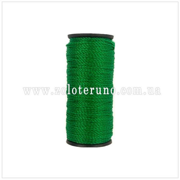 Капронова нитка, колір зелений