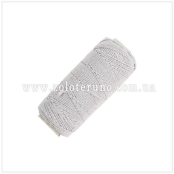 Резинка-нитка, колір білий