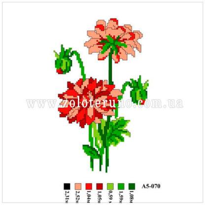 Набір купити для вишивання нитками А5-070