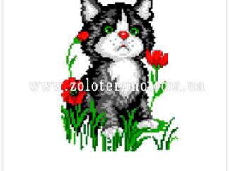 купити набір на муліне А5-076 Котик