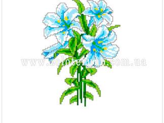 Набір для вишивання нитками А5-078 Букет квітів