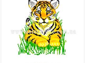 Набір для вишивання нитками А5-086 Тигр