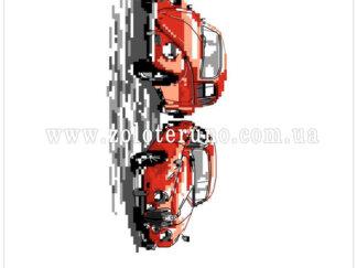 Набір для вишивання нитками А5-094 Автомобілі