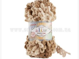 Пряжа: 6066 Puffy Fine Склад пряжі: 100% мікрополіестр.