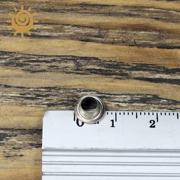 Люверс 8 мм, колір срібний 2