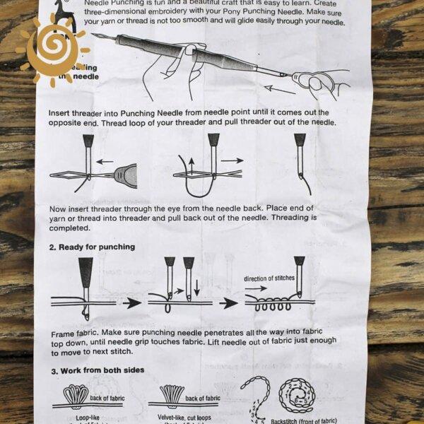 Голка для техніки висмикування (килимова вишивка) 2